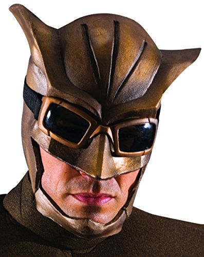 Rubie's Men's The Watchmen Night Owl Deluxe Mask, Brown, One Size]()