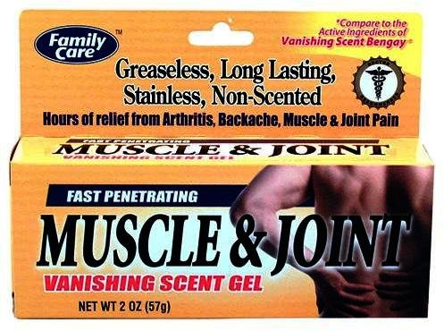 Muscle & Joint - Gel Parfum Vanishing, 2 oz