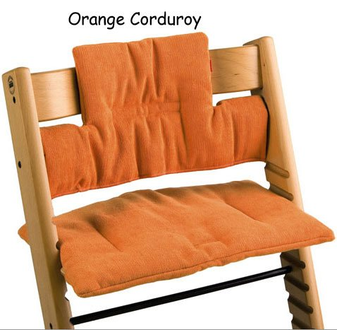 Amazon.com: Stokke Tripp Trapp cojín (naranja) – de pana en ...