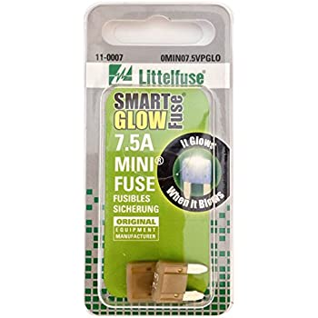 Amazon Com Littelfuse 0min005 Vpglo Mini Smartglow 12