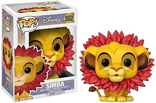 A-Generic Funko Lion King # 302 Simba-Leaf Mane Pop! Multico