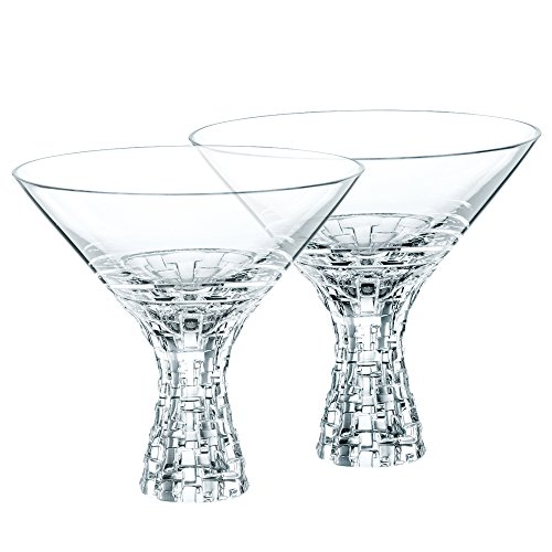 Nachtmann Dancing Stars Bossa Nova Martini Glasses, Set of 2 by Nachtmann - The Life Style Division of Riedel Glass Works