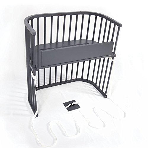 Find Cheap babybay Bedside Sleeper (Modern Slate Gray Finish)