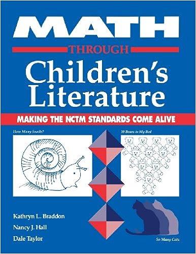 Amazon.com: Math Through Children's Literature: Making the NCTM ...