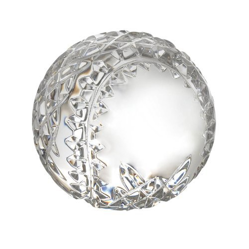 - Waterford Crystal Baseball Paperweight