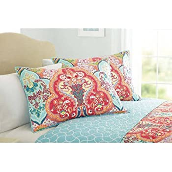 Amazon.com: Better Homes and Gardens Quilt Collection, Jeweled ... : better homes quilts - Adamdwight.com