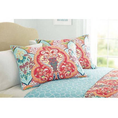 Better Homes and Gardens Beautiful Jeweled Damask Bedding Qu