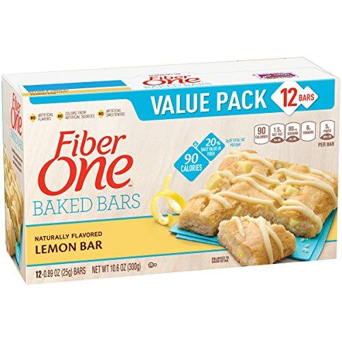 fiber one lemon bars - 5