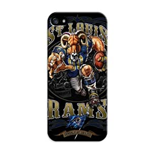 Cover For iphone 5s St. Louis Rams Nfl Pattern Personalised Phone Case