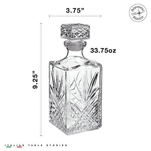 Bormioli Rocco Selecta 7-Piece Whiskey Gift Set, Frustration Free Packaging by Bormioli Rocco (Image #1)