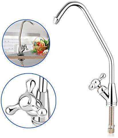 Hrph La ósmosis inversa filtro de agua del grifo del fregadero ...