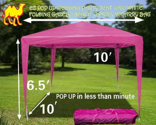 Fuerte camello EZ Pop Up carpa para fiestas (10 x 10 playa de ...