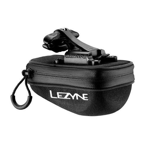 LEZYNE Pod Caddy Quick Release Saddle Bag (Medium, Black)