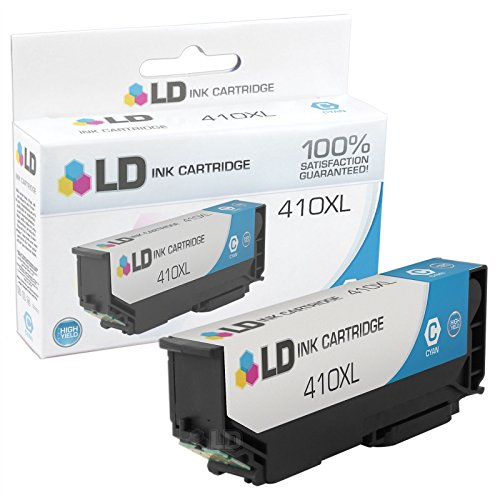 LD Products Remanufactured Ink Cartridge Replacement for Epson T410 ( Cyan )