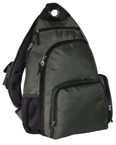 Port Authority Sling Pack, dark slate, One Size, Bags Central