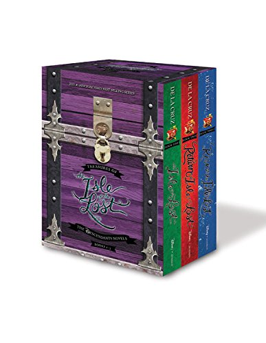 Treasures of the Isle of the Lost [3-Book Hardcover Boxed Set + Poster] (The Descendants)