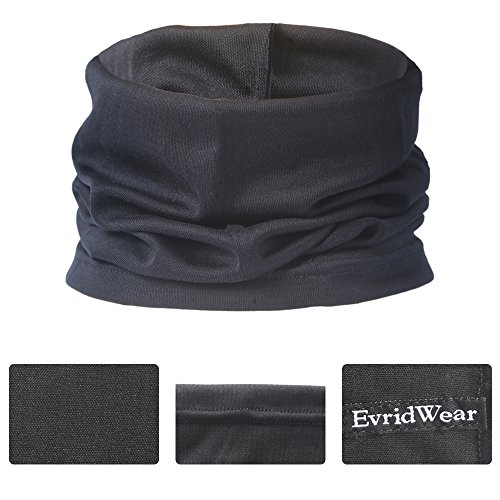 Evridwear Silk Neck Gaiter,Outdoor Silk,Face Mask,Cycling Face Mask, Snowboarding,Fishing,Hiking, Windproof,Desert Travel Dust Mask, Neck Gaiter Balaclava,Breathable Unisex Fit All Season