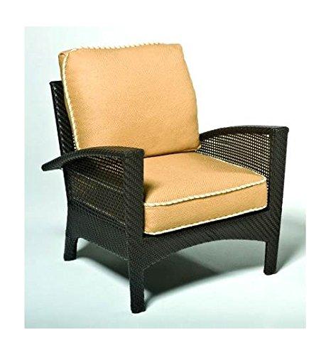 - Woodard Trinidad Lounge Chair w Complete Cushion Set - Java