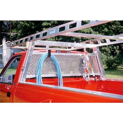 System One AWG2651 Aluminum Full Size Pickup Truck Window / Cab Guard - INCLUDE with Orders: Truck Year/Make/Model/Bed Length/Cab Style (to confirm fit) ()