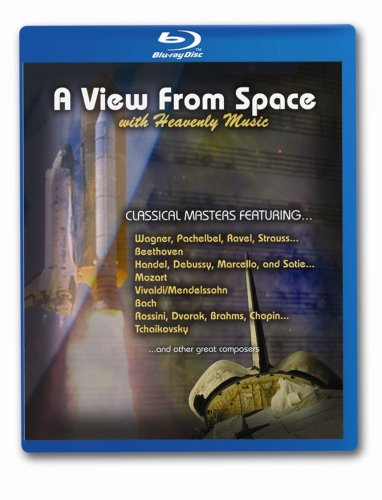 A View From Space With Heavenly Music