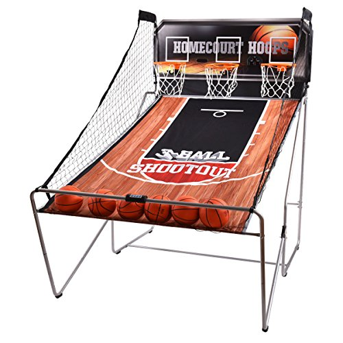 Giantex Indoor Basketball Arcade Game Sport Electronic Hoops Shot 3 Player Christmas Kid