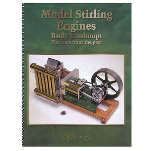 Model Stirling Engines (Plan Sets From the Past)