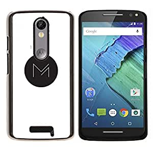Caucho caso de Shell duro de la cubierta de accesorios de protección BY RAYDREAMMM - Motorola MOTO X3 3rd - M en punto
