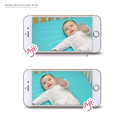 e5a2c4fd59f Project Nursery HD WiFi Video Baby Monitor System with Sound ...
