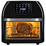 Best Choice Products 16.9qt 1800W 10-in-1 XXXL Family Size Air Fryer Countertop Oven, Rotisserie,...