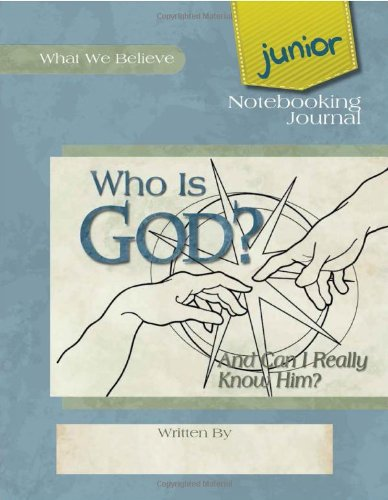 Junior Notebooking Journal What Believe product image