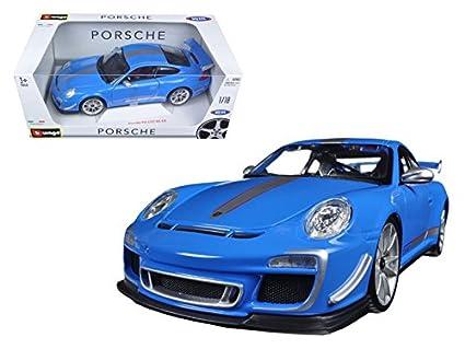 Amazon.com Maisto Porsche 911 GT3 RS 4.0 Blue 1/18 Car