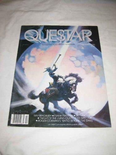 Questar V. 3 #1 Oct. 1980 Frazetta Bradbury Lupoff Battle Beyond the Stars Romer