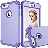 Maxcury iPhone 6 Plus Case iPhone 6s Plus Case, Hybrid Heavy Duty Shockproof Full-Body Protective Case with Three Layer Impact Protection for Apple iPhone 6s Plus 5.5 inch - Lilac