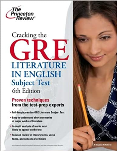 Book Cracking the GRE Literature in English Subject Test (text only) 6th (Sixth) edition by Princeton Review