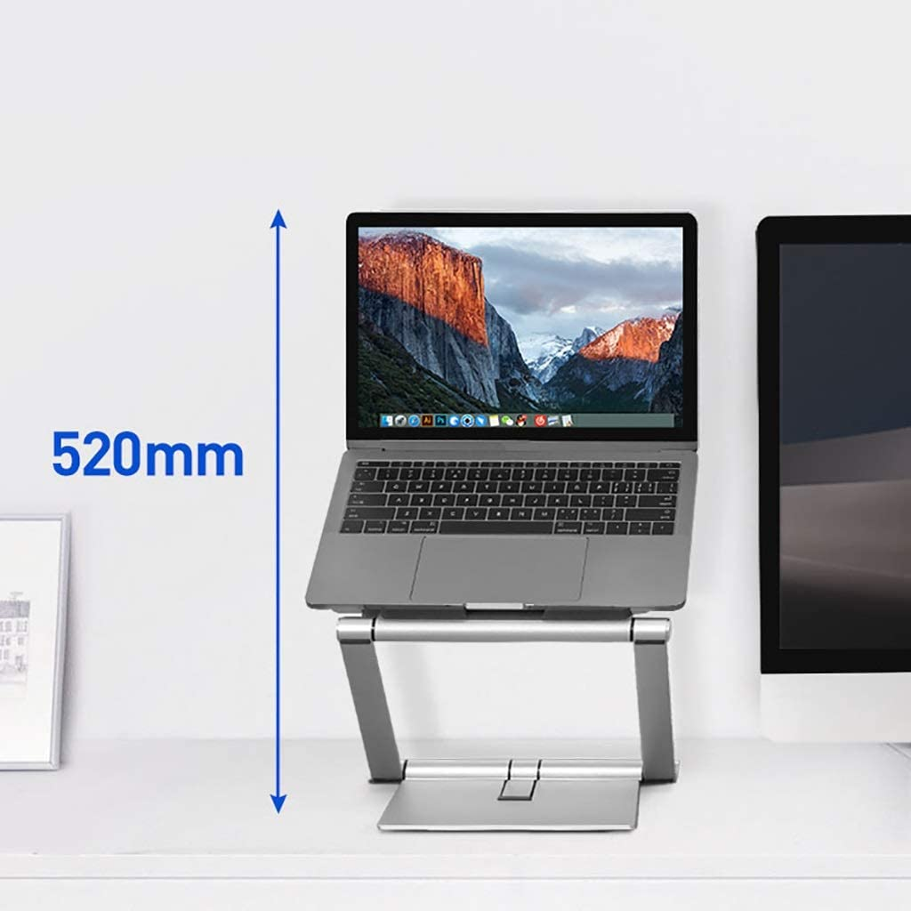 4-17 Inch Stand with Heat-Vent to Elevate Laptop Adjustable Notebook Sand for Laptop Laptop Holder Multi-Angle Laptop Stand