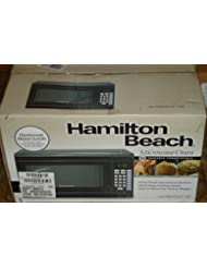 Hamilton Beach 0.9 Cu. Ft. 900 Watt Digital Microwave Oven, Black