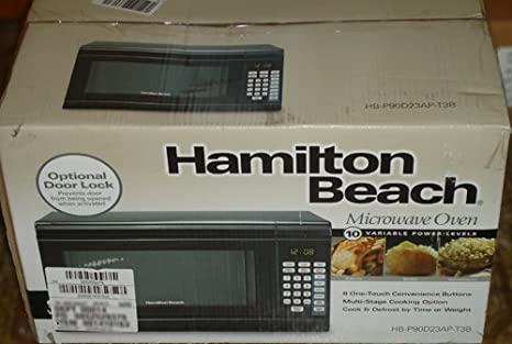 Amazon.com: Hamilton Beach 0.9 Cu. Ft. 900 Watt Digital ...