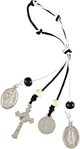 Autom St Benedict Medals Home Protection Hanger, 6 1/2 Inch
