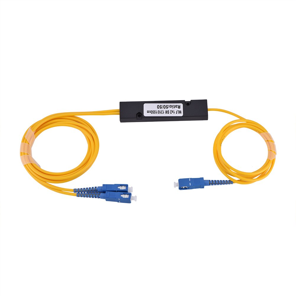 1 to 2 Singlemode SC Optical Fiber Splitter Cable with SC-SC Connector