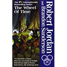 By Robert Jordan - Wheel of Time, Boxed Set IV: Crossroads of Twilight, Knife of Dreams, Gathering Storm