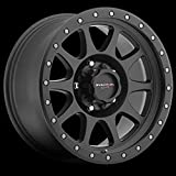 Walker Evans 504SB Legacy Satin Black with Satin Black X-LOK Lip Wheel (16x8