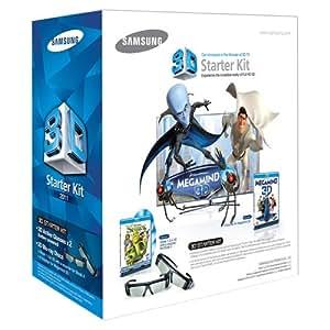 Samsung SSG-P3100M Megamind 3D Starter Kit - Black (Compatible with 2011 3D TVs)