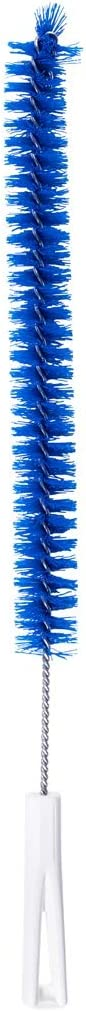 Fuller Brush Drain Cleaner Brush - Flexible Thin Long Scrub Cleaner For Tubes & Pipes - Bristled Stick For Clean & Clog Free Sinks, Bathtub, Shower & Dishwasher Drains
