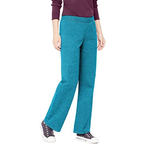 Hanes Womens Regular Fleece Sweatpant Blue (Hanes Port)