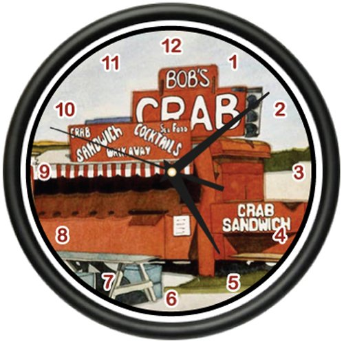 crab-shack-wall-clock-restaurant-house-crabs-decor