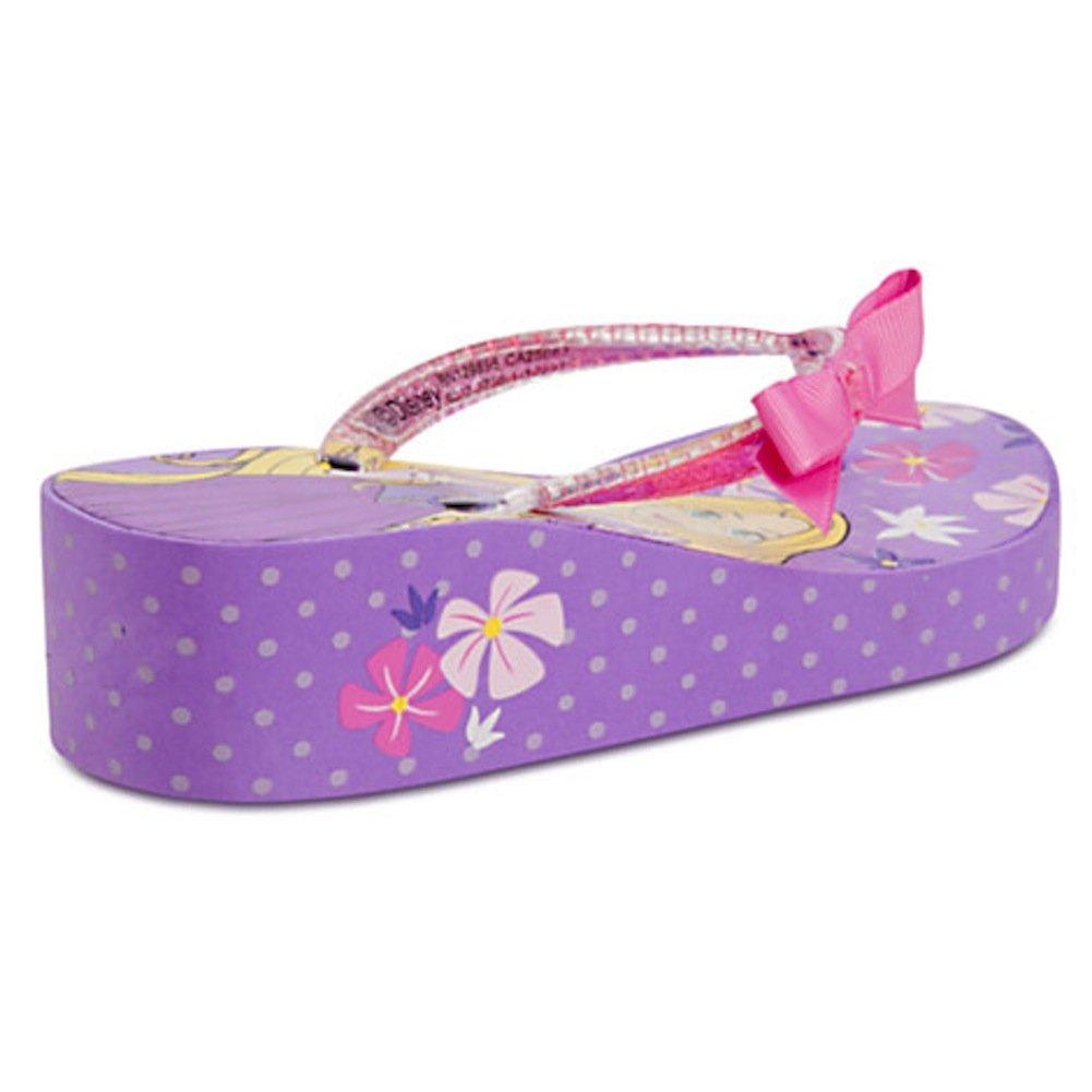 Disney Princess Rapunzel Platform Flip Flops for Girls Toddlers Tangled