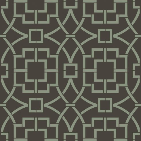 Tea House Trellis Craft Stencil - Size MEDIUM - Trendy Reusable Stencils for DIY Home Decor - By Cutting Edge - Is How Usps Long Priority Mail