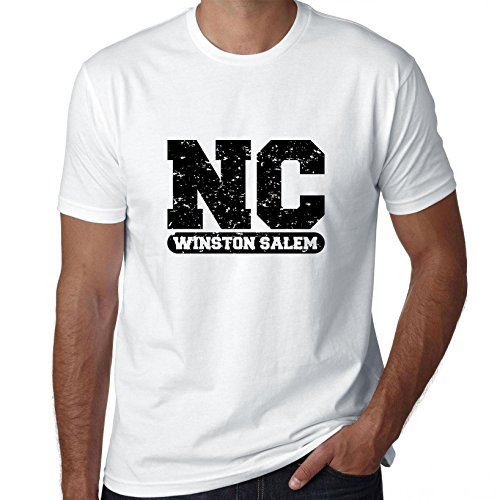 Winston Salem, North Carolina NC Classic City State Sign Men's T-Shirt -