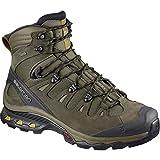 Salomon Men's Quest 4D 3 GTX Hiking Boots Wren/Bungee Cord/Green Sulphur 12.5