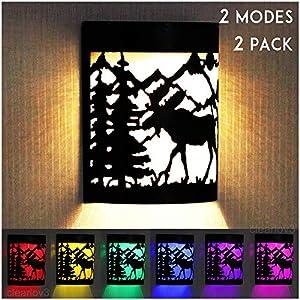 Sweepstakes: UPSTONE Outdoor Solar Wall Reindeer Deer...